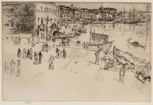 James Abbott Mcneill Whistler - Der Riva I