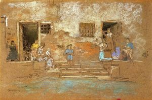 James Abbott Mcneill Whistler - Die Stufen