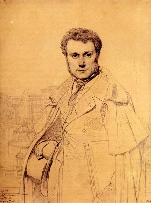 Victor Baltard von Jean Auguste Dominique Ingres (1780-1867, France)