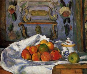 Paul Cezanne - Dish von Apples