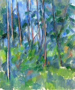 Paul Cezanne - in der wald 1