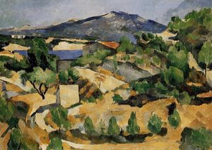 Paul Cezanne - berge in provence ( nahe L'Estaque )