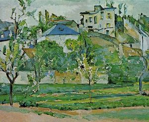 Paul Cezanne - Obstgarten in Pontoise