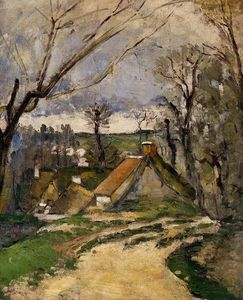 Paul Cezanne - Die Cottages von Auvers
