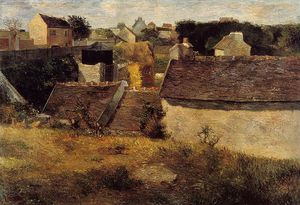 Paul Gauguin - Häuser, Vaugirard