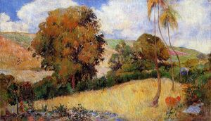 Paul Gauguin - Wiese in Martinique