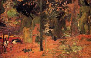 Paul Gauguin - der badende