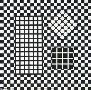 Victor Vasarely - Komposition 3