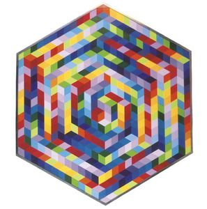 Victor Vasarely - hut-a
