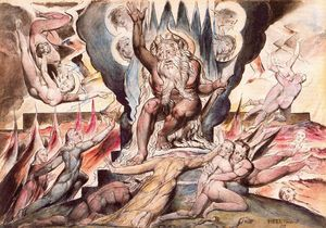 William Blake - Minos