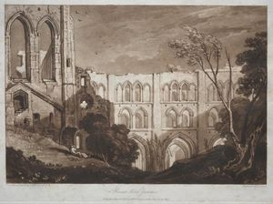 William Turner - Rivaux Abbey, Yorkshire