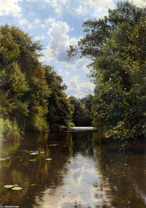 Peder Mork Monsted - Einem Sommertag