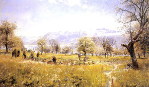 Peder Mork Monsted - durch den see