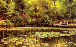 Peder Mork Monsted - Wasserlilien
