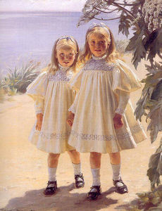 Peder Severin Kroyer - Hermanas Bentzon