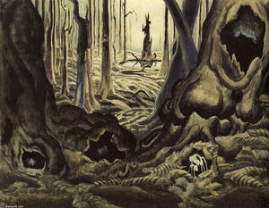 Charles Ephraim Burchfield - The First Hepaticas