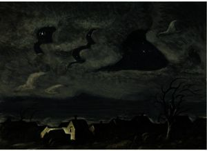 Charles Ephraim Burchfield - wind in der nacht