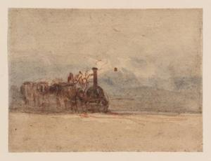 David Cox - Eine Lokomotive