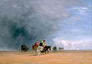 David Cox - Crossing the Sands