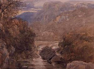 David Cox - Pont-Y-Pair, North Wales