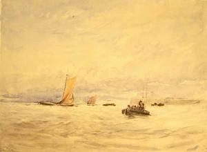David Cox - The Humber Am Hull