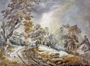 David Cox - winterlandschaft