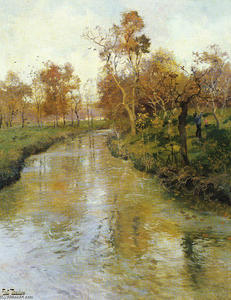 Frits Thaulow - Herbst