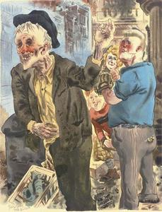 George Grosz - new york