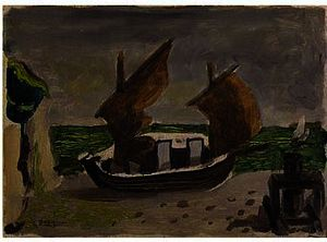 Georges Braque - Boote 1