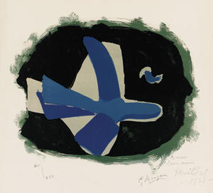 Georges Braque - wald vögel