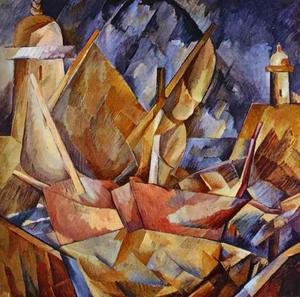 Georges Braque - Hafen in der Normandie