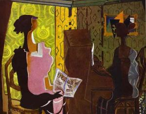 Georges Braque - die duet ( le duo )