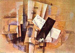 Georges Braque - Des Musikers Tabelle