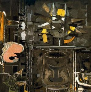 Georges Braque - der studio ( IX )