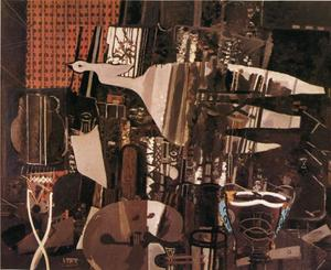 Georges Braque - der studio ( V )