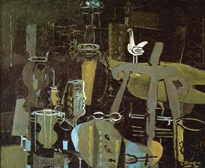 Georges Braque - der studio ( VI )