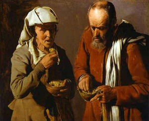 Georges De La Tour - Die Porridge Eaters