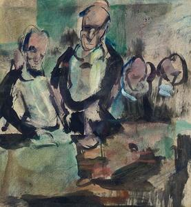 Georges Rouault - Abendessen
