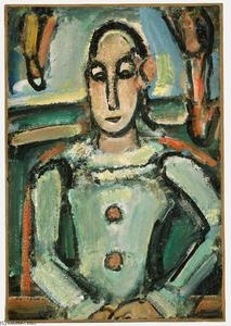 Georges Rouault - Pierrot 3