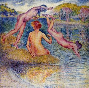 Henri Edmond Cross - Badende 3