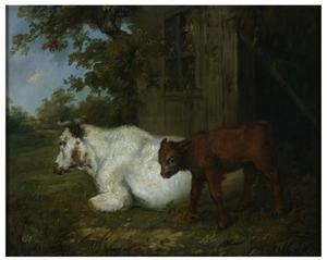 James Ward - Kuh und Kalb