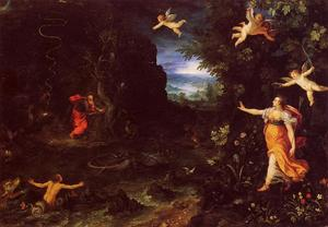 Jan Brueghel The Elder - Circe und Ulysses