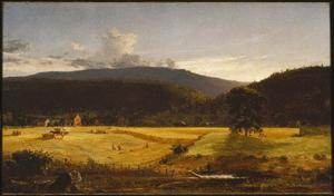 Jasper Francis Cropsey - Bareford Berge , Westen Milford , new jersey