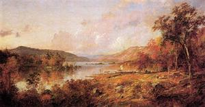 Jasper Francis Cropsey - Greenwood Lake im September