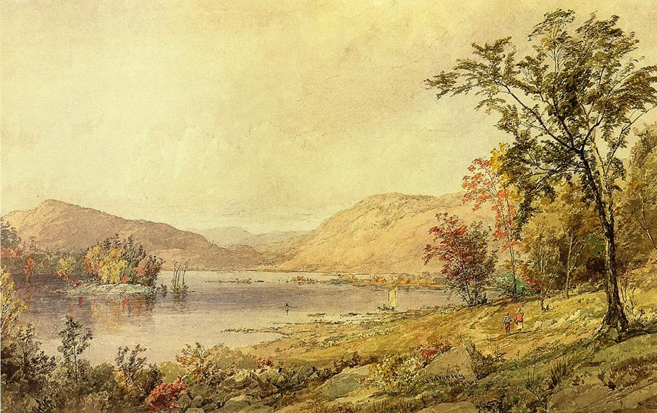 Greenwood See , new jersey von Jasper Francis Cropsey (1823-1900, United States) | WahooArt.com