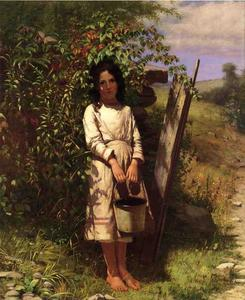 John George Brown - Blackberry-Ernte