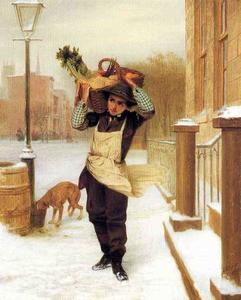 John George Brown - Lieferjunge
