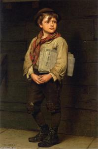 John George Brown - Nachrichten Boy