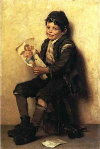 John George Brown - Paddys Valentine