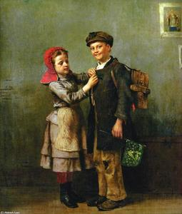 John George Brown - St. Patrick s Day